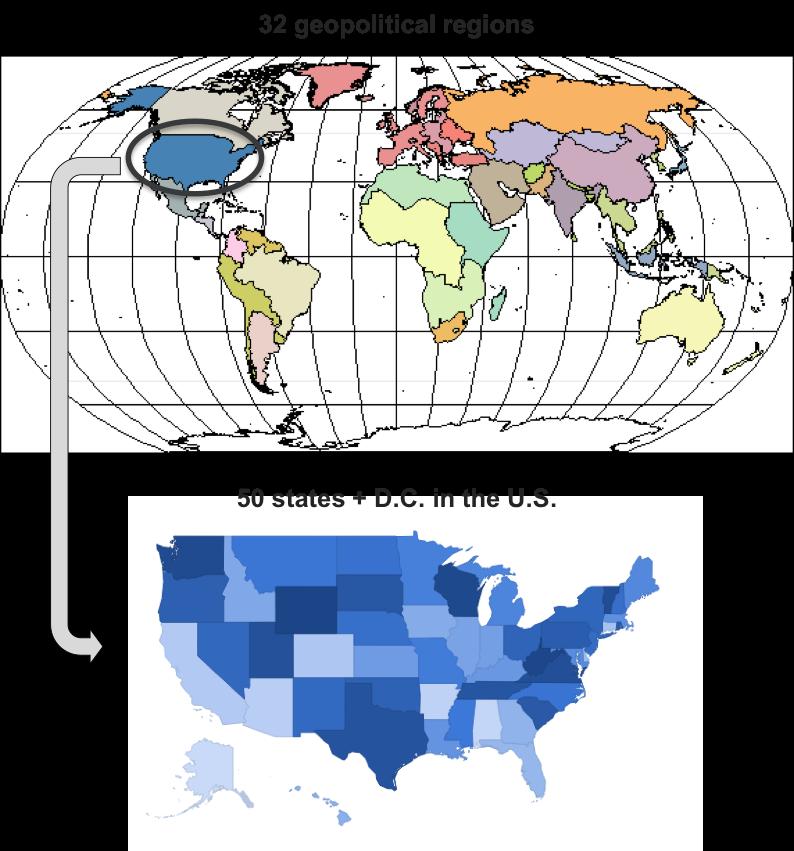 GCAM v5 1 Documentation: GCAM-USA